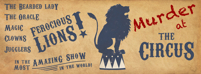 murder mystery circus image facebook
